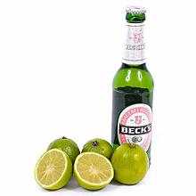 Becks Lemon, Becks Bier und Limetten