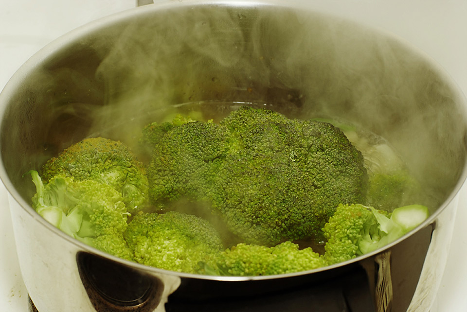 Broccoli blanchieren