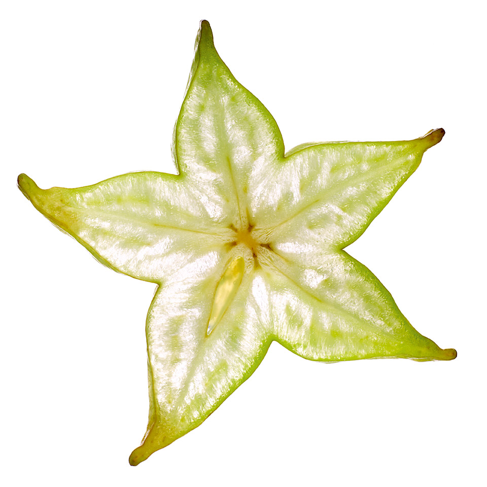Sternfrucht Scheibe