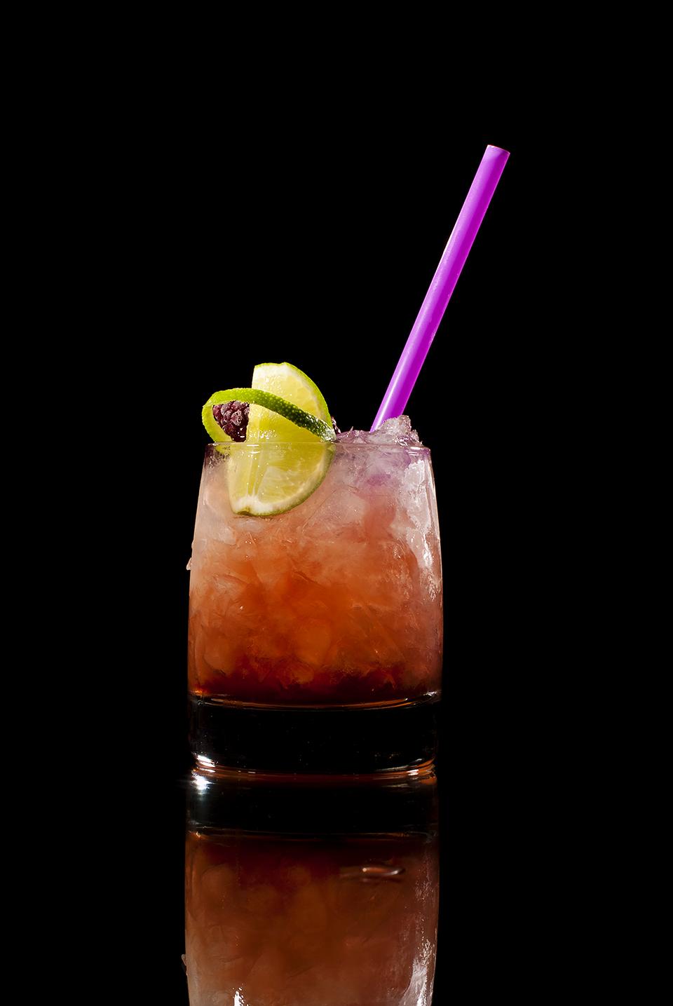 Seitenansicht: Cocktail Bramble