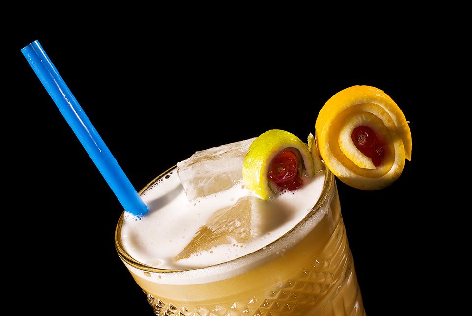 Nahaufnahme: Whisky Sour