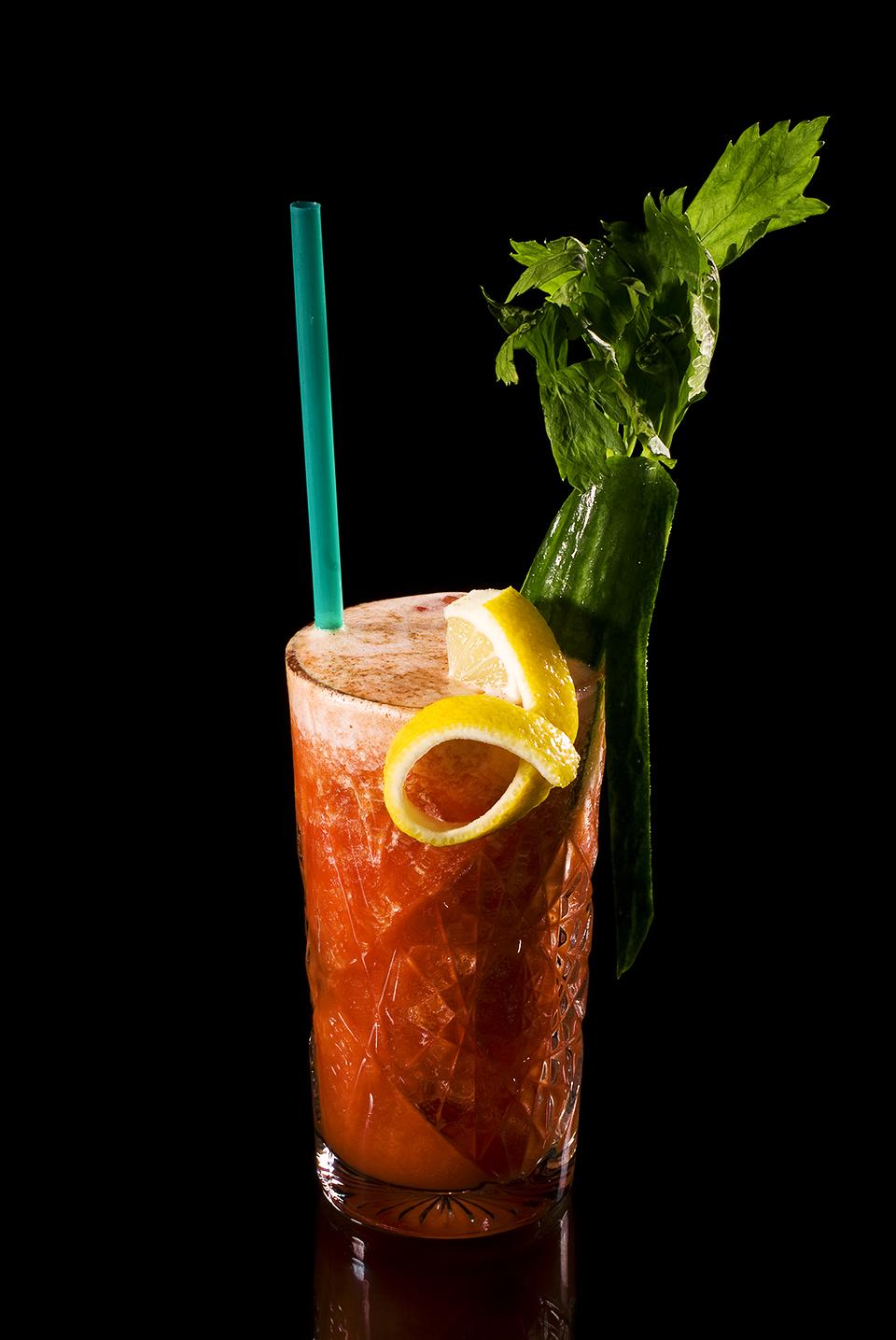 Bloody Mary von der Seite